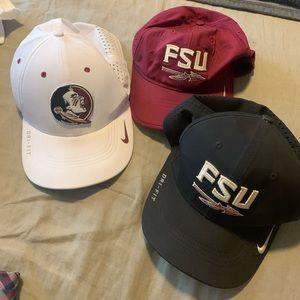 FSU Nike hats
